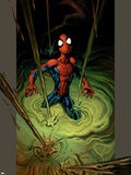Ultimate Spider-Man No.79 Cover: Spider-Man Plastic Sign by Mark Bagley