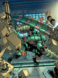 The Amazing Spider-Man No.651: Scorpion Crouching Plastic Sign by Stefano Caselli
