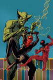 Superior Spider-Man Team-Up 2 Cover: Spider-Man, Scarlet Spider, Jackal Plastic Sign by Paolo Rivera