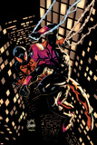 Scarlet Spider 20 Cover: Scarlet Spider, Spider-Man Plastic Sign by Ryan Stegman