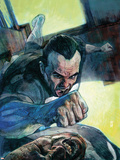 Punisher War Journal No.23 Cover: Punisher Plastic Sign by Alex Maleev