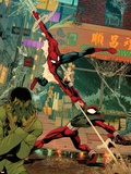 Spider-Man: The Clone Saga No.6 Cover: Spider-Man and Scarlet Spider Wall Decal by Chris Cross