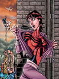Spider-Girl No.73 Cover: Spider-Girl Wall Decal by Ron Frenz