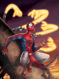 Spider-Man India No.3 Cover: Spider-Man Wall Decal by Jeevan J. Kang