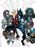 Spider-Girl: The End! No.1 Cover: Spider-Girl and Mayhem Plastic Sign by Sal Buscema