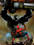 Ultimate Spider-Man No.131 Cover: Spider-Man and Hulk Wall Decal by Stuart Immonen