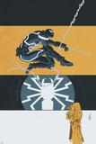 Venom 38 Cover: Venom, Kiernan, Katy Plastic Sign by Declan Shalvey