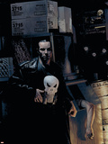 Punisher No.9 Cover: Punisher Wall Decal by Tim Bradstreet