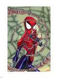 Spider-Girl No.70 Cover: Spider-Girl Fighting Wall Decal by Ron Frenz
