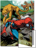 Marvel Adventures Spider-Man No.13: Spider-Man Running Prints by Roberto Di Salvo
