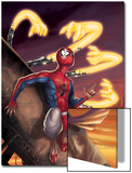 Spider-Man India No.3 Cover: Spider-Man Posters by Jeevan J. Kang