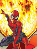 Spider-Man: With Great Power&No.3 Cover: Spider-Man Wall Decal by Tony Harris
