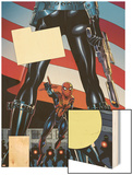 The Amazing Spider-Girl No.9 Cover: Spider-Girl Wood Print by Ron Frenz
