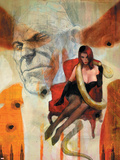 Punisher War Journal No.16 Cover: Princess Python Plastic Sign by Alex Maleev