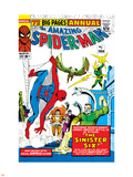 Amazing Spider-Man Annual No.1 Cover: Spider-Man Wall Decal by Steve Ditko