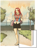 Spider-Man Loves Mary Jane Season 2 No.1 Cover Wood Print by Terry Moore