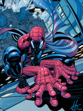 Spectacular Spider-Man No.11 Cover: Spider-Man Wall Decal by Scott Damion