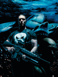 Punisher No.31 Cover: Punisher Plastic Sign by Tim Bradstreet