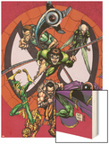 Marvel Adventures Spider-Man No.3 Group: Doctor Octopus Wood Print by Patrick Scherberger