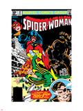 Spider-Woman No.37 Cover: Spider Woman, Siryn, Juggernaut and Nick Fury Plastic Sign by Steve Leialoha