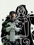 Punisher No.2 Cover: Punisher Plastic Sign by Mike McKone