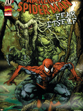 Spider-Man: Fear Itself No.1 Cover: Spider-Man and Man-Thing Plastic Sign by Mico Suayan