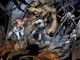 Ultimate Spider-Man No.156: Electro, Kraven the Hunter, Sandman, Vulture, and Doctor Octopus Wall Decal by Mark Bagley