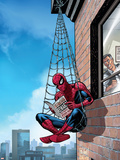 Marvel Adventures Spider-Man No.51 Cover: Spider-Man Plastic Sign by Nolan Graham