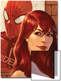 Web of Spider-Man No.11 Cover: Mary Jane Watson in front of a Poster Posters by Jelena Djurdjevic