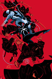 Scarlet Spider 19 Cover: Scarlet Spider, Wolverine Wall Decal by Ryan Stegman