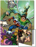 Marvel Adventures Spider-Man No.17 Cover: Spider-Man, Doctor Octopus, Kraven The Hunter and Others Posters by Stewart Cameron