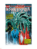 The Spectacular Spider-Man Speci Cover: Lizard Plastic Sign by Joe St. Pierre
