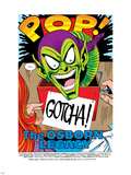 The Spectacular Spider-Man No.189 Headshot: Green Goblin Plastic Sign by Sal Buscema