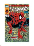 Spider-Man No.1 Cover: Spider-Man Wall Decal by Todd McFarlane