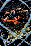 Scarlet Spider 16 Cover: Scarlet Spider Wall Decal by Ryan Stegman
