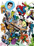 Marvel Visionaries: John Romita: Spider-Man Plastic Sign by John Romita Sr.