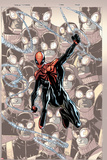 Superior Spider-Man 14 Cover: Spider-Man Plastic Sign by Humberto Ramos