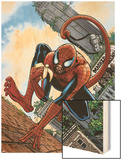 Marvel Apes: Amazing Spider-Monkey Special 1 Cover: Spider-Man Wood Print by John Watson