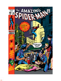The Amazing Spider-Man No.96 Cover: Spider-Man Plastic Sign by Gil Kane