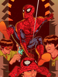 Spider-Man: Brand New Day - Extra!! No.1 Cover: Spider-Man Plastic Sign by Tony Harris