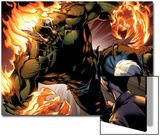 Ultimate Spider-Man No.159: Green Goblin Flaming Posters by Mark Bagley