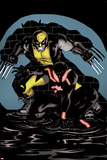 Scarlet Spider 18 Cover: Wolverine, Scarlet Spider Wall Decal by Ryan Stegman