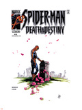 Spider-Man: Death & Destiny No.2 Cover: Spider-Man Plastic Sign by Lee Weeks