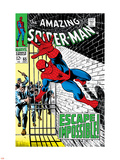 The Amazing Spider-Man No.65 Cover: Spider-Man Charging Wall Decal by John Romita Sr.