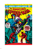 The Amazing Spider-Man No.136 Cover: Spider-Man and Green Goblin Plastic Sign by Ross Andru