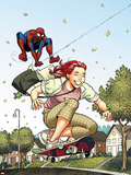 Spider-Man Loves Mary Jane Season 2 No.3 Cover Plastic Sign by Terry Moore