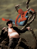 Spider-Man/Doctor Octopus: Year One No.5 Cover: Spider-Man and Doctor Octopus Wall Decal by Kaare Andrews
