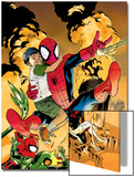 Ultimatum: Spider-Man Requiem No.2 Cover: Spider-Man Jumping Print by Stuart Immonen
