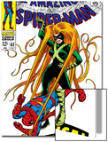 The Amazing Spider-Man No.62 Cover: Spider-Man and Medusa Fighting Posters by John Romita Sr.
