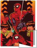 Spider-Man: With Great Power&No.5 Cover: Spider-Man, Peter Parker Posters by Tony Harris